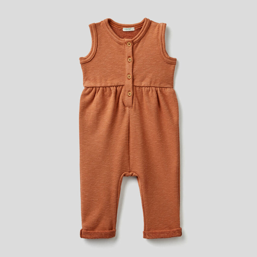 Jumpsuit with gathered waist