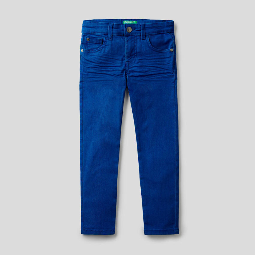 Five pocket skinny jeans