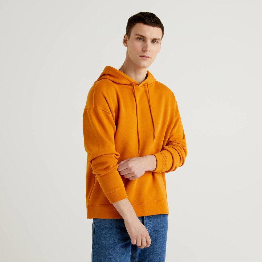 Sudadera de 100 % algodón con capucha