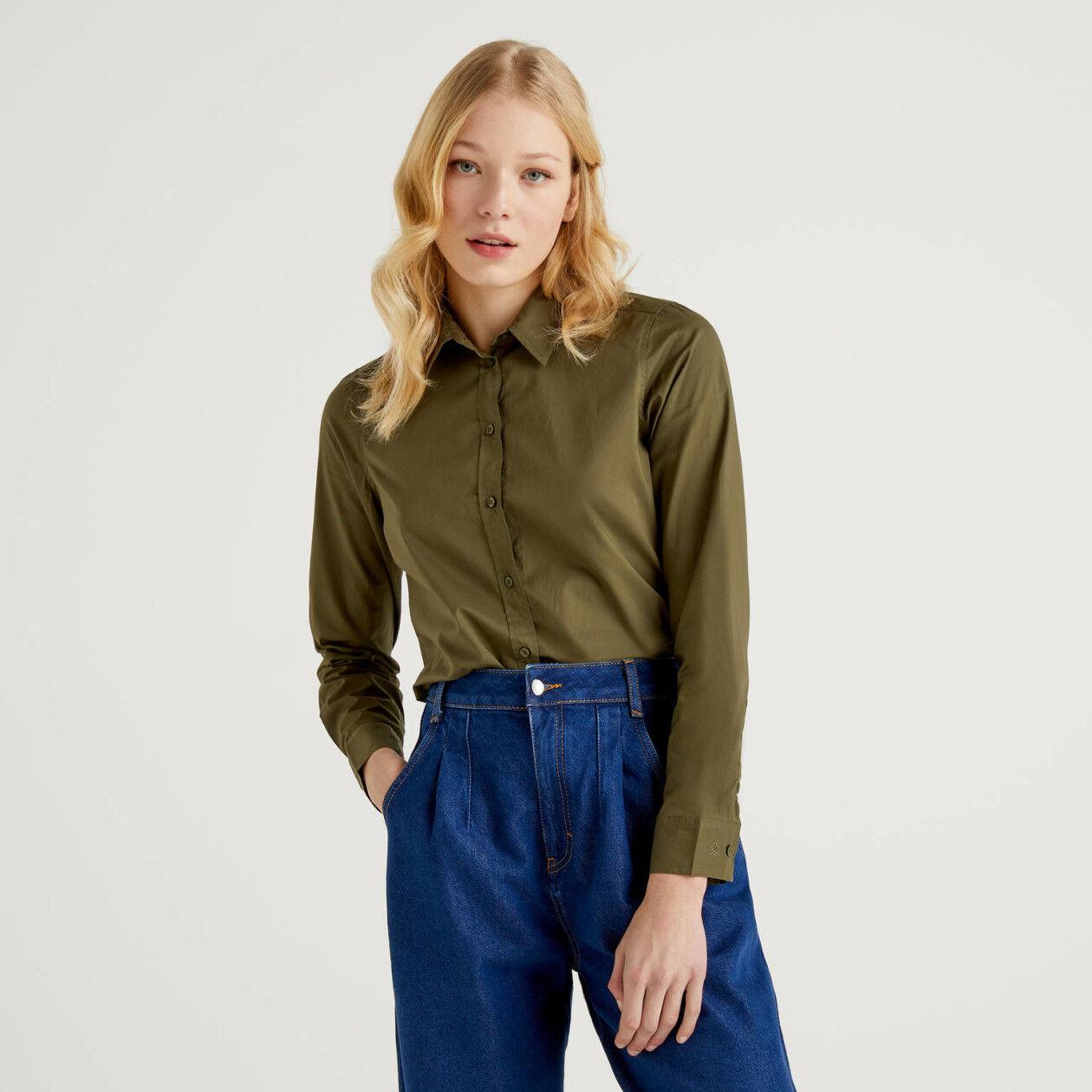 Camisa personalizable de algodón ligero