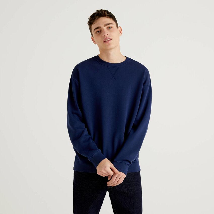 Pure cotton sweatshirt
