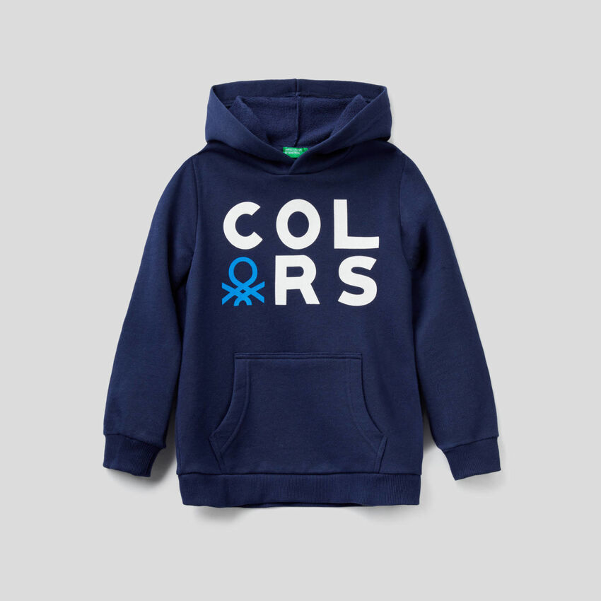 Dark blue hoodie