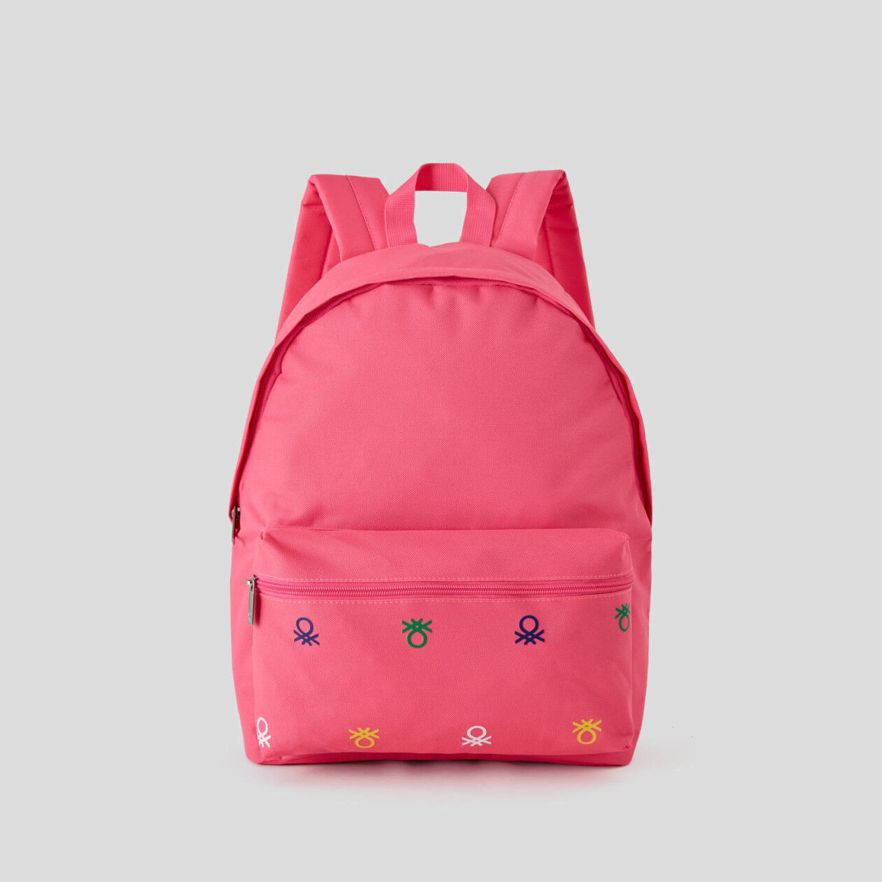 Rucksack in nylon with logo
