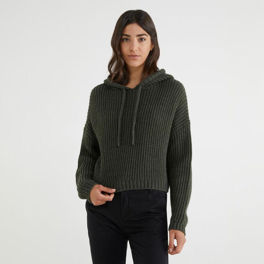 Jersey con capucha