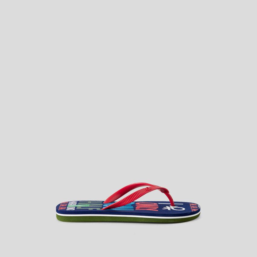 Pattern print flip-flops