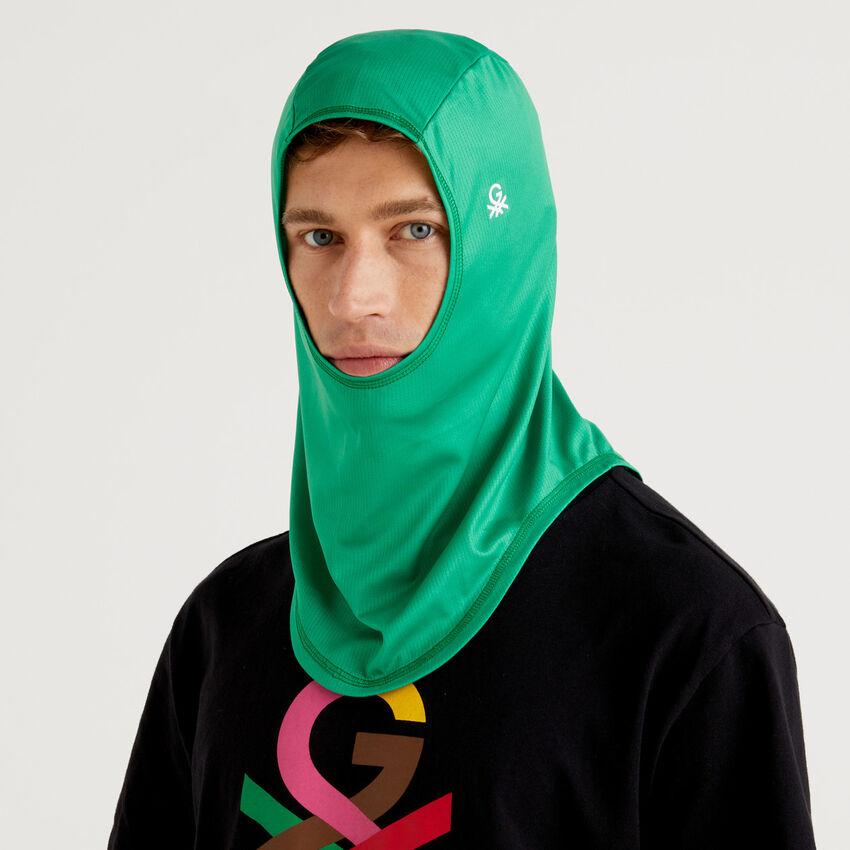 Hijab unisex verde by Ghali con logotipo