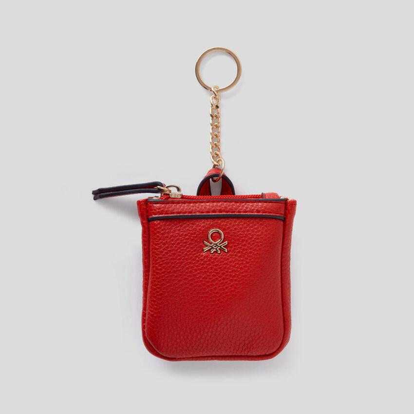 Keychain with coin purse