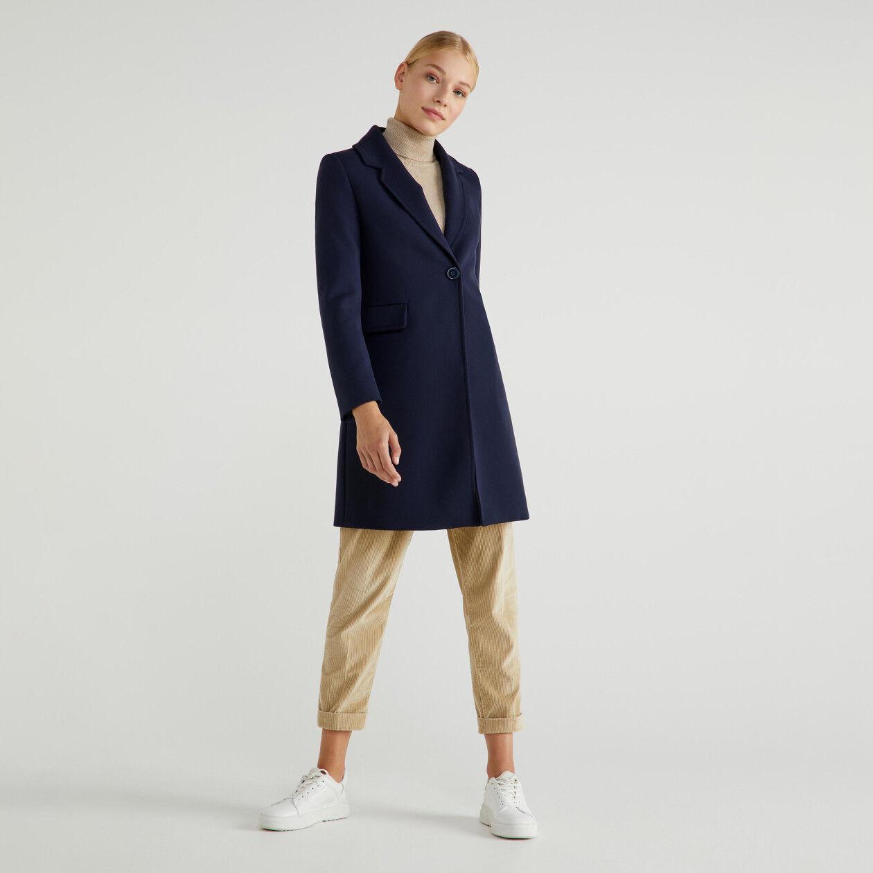 Lined coat