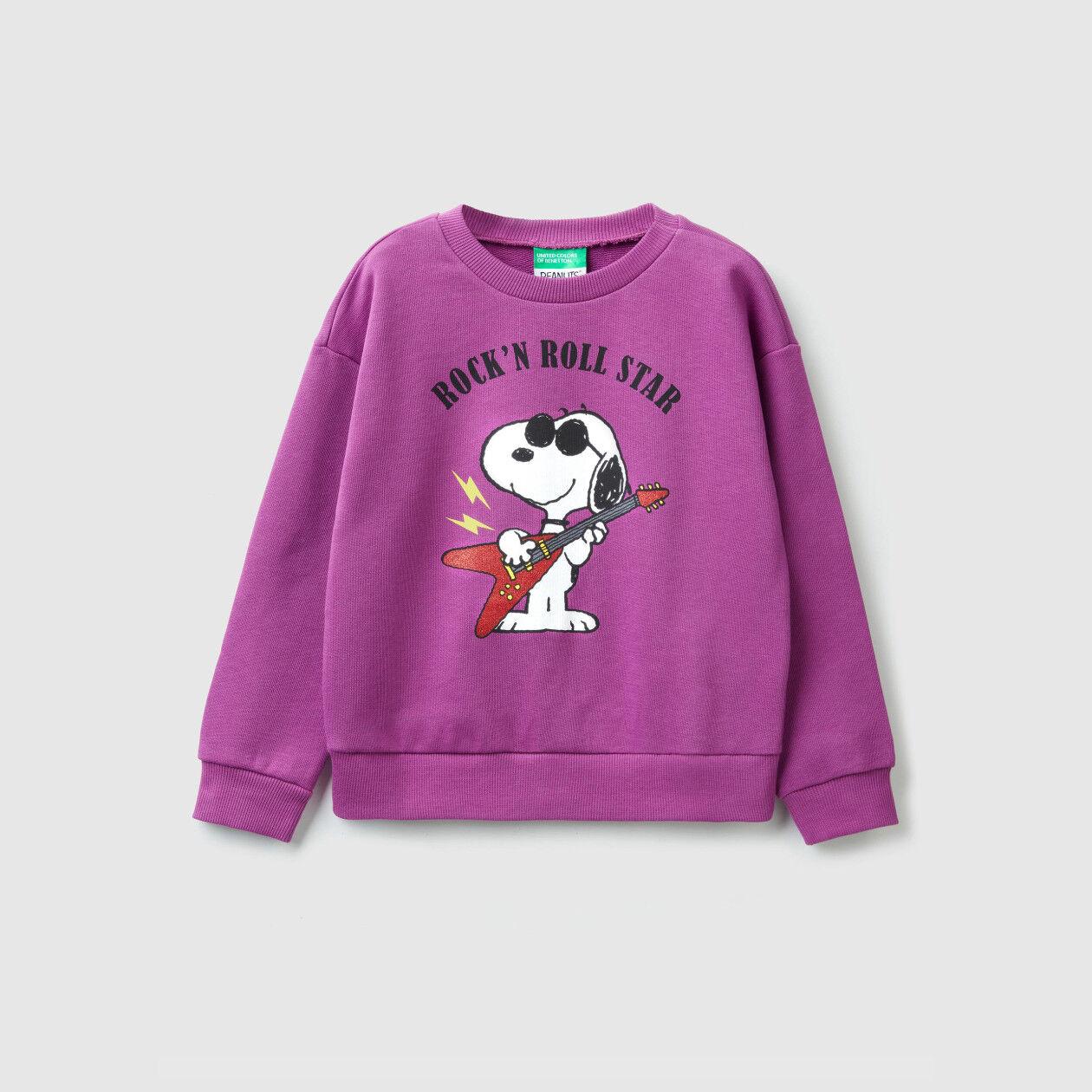 """Sudadera con estampado de """"Snoopy"""""""